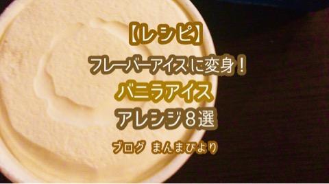 【レシピ】普通のバニラをフレーバーアイスに変身!バニラアイスクリームのアレンジ方法8選