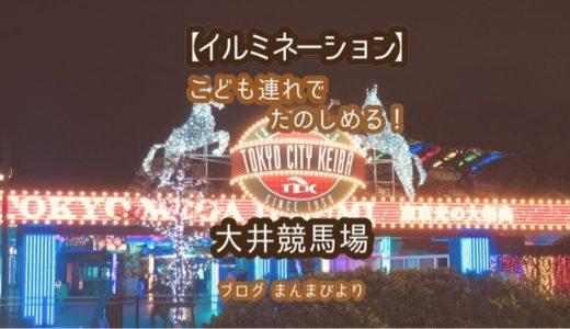 【イルミネーション】子供と一緒に楽しめる!東京都品川区にある大井競馬場で夜を楽しもう!