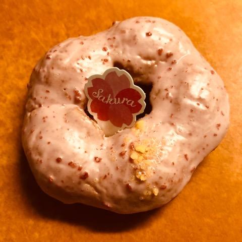 桜の花ドーナツドーナツ ミスド ミスタードーナツ ストロベリー