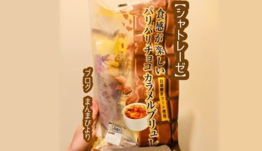 【シャトレーゼ】カスタードアイスがおいしい!パリパリチョコカラメルブリュレ