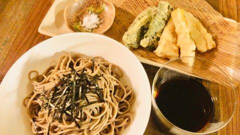 天狗そば たけのこの天ぷら 季節の天ぷら つけつゆ 木下製粉株式会社 ファリーナコーポレーション 春 レシピ