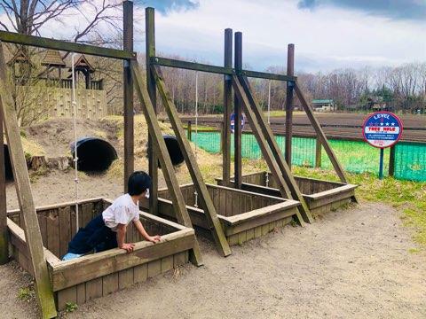 北軽井沢スウィートグラス キャンプ 家族 子連れ アスレチック ファミリーキャンプ