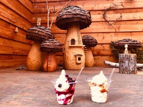 北軽井沢スウィートグラス キャンプ 家族 子連れ ソフトクリーム ファミリーキャンプ